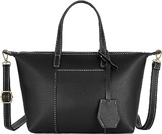 8ace867493 CRAZYCHIC - Petit Sac à Main Femme Simili Cuir PU - Sac Shopping Porté  Epaule Bandoulière