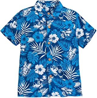 Mickey Mouse and Friends Aloha Shirt for Boys Hawaii Multi