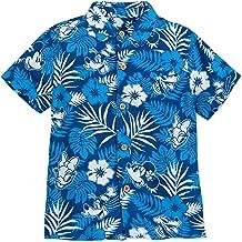 Disney Mickey Mouse and Friends Aloha Shirt for Boys Hawaii Multi