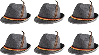 Beistle 60243 6-Pack German Alpine Hats