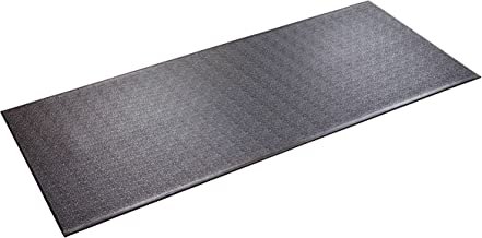 """product image for SuperMats Heavy Duty Equipment Mat 30GS Made in U.S.A. for Treadmills Ellipticals Rowing Machines Recumbent Bikes and Exercise Equipment (2.5-Feet x 6-Feet) (30"""" x 72"""") (76.20 cm x 182.88 cm)"""