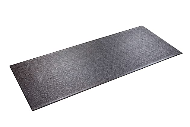 SuperMats Heavy Duty Equipment Mat 30GS Made in U.S.A. for Treadmills Ellipticals Rowing Machines Recumbent Bikes and Exercise Equipment (2.5-Feet x 6-Feet) ...