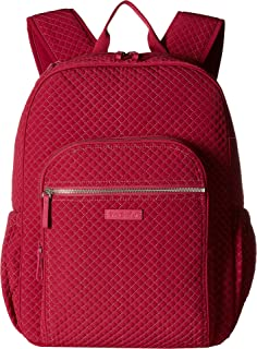 Vera Bradley Women's Iconic Campus Backpack Passion Pink One Size