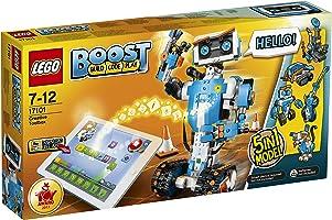 LEGO Boost Creative Toolbox 17101 Fun Robot Building Set and Educational Coding Kit for Kids, Award-Winning STEM...