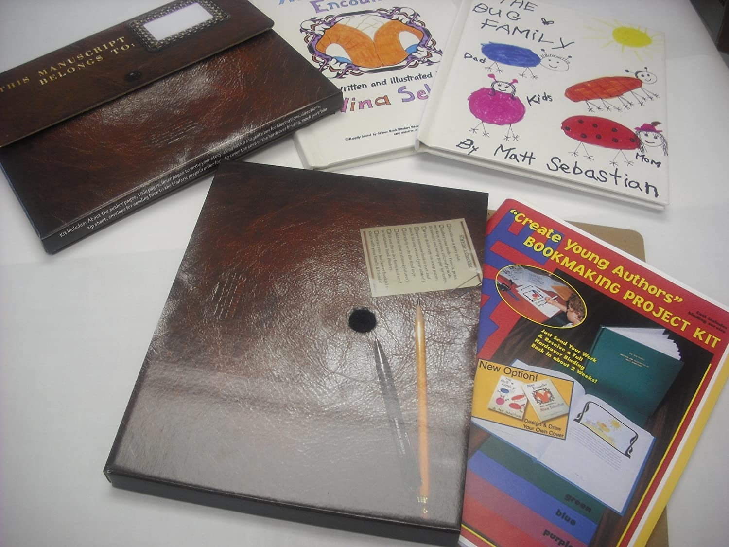 Create Young Authors Bookmaking Project Kit by Create Create Create Young Authors  saludable