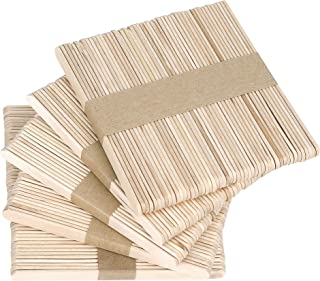 Asta di Legno Naturale POKIENE Asta di Legno 50 Pezzi Bastone di Legno per Progetti di Artigianato Fai-da-Te Modello di Costruzione Giocattoli Educativi Senza Sbavature e Odore 6 Mm * 30 Cm