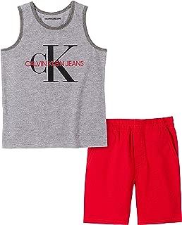 Calvin Klein Boys' 2 Pieces Tank Short Set