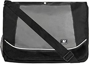 SumacLife Messenger Bag fits Tablets and Laptops up to 15.6 inch (Black)