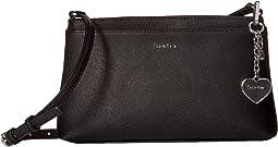Calvin Klein - Novelty Saffiano Top Zip Crossbody