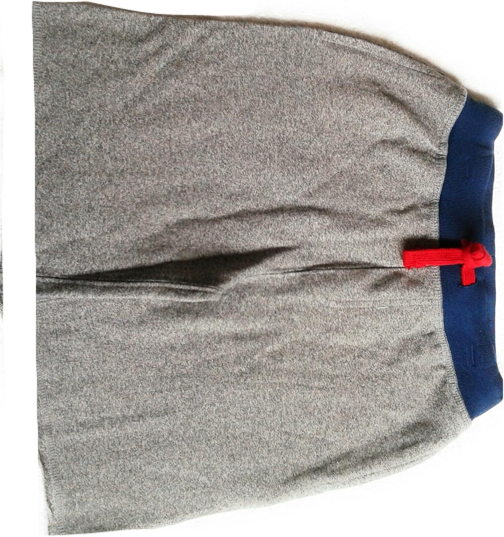Chaps Boys Sport Short Pants 100% Cotton Heather Gray 6