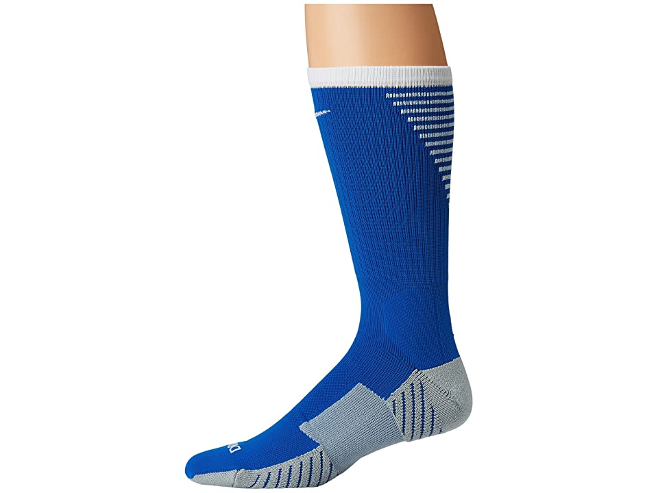 Nike Stadium Football Crew (Royal Blue/White) Crew Cut Socks Shoes