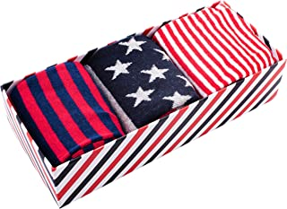 American Flag Socks for Men - Stars and Stripes Mens Sock - Many Styles to Choose From