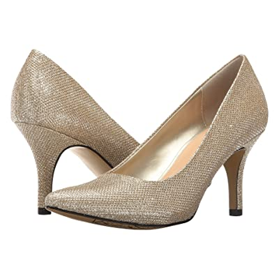 Bella-Vita Define (Gold Glitter) High Heels