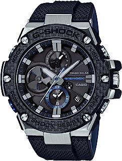 [カシオ] 腕時計 ジーショック G-STEEL スマートフォン リンク カーボン ベゼル GST-B100XA-1AJF メンズ ブラック