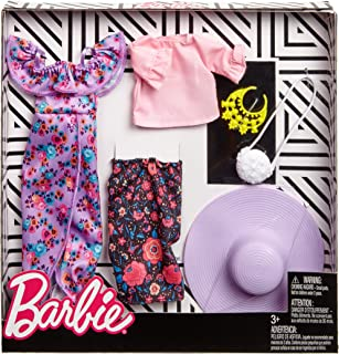 Barbie Ruffles and Floral Fashion, 2 Pack