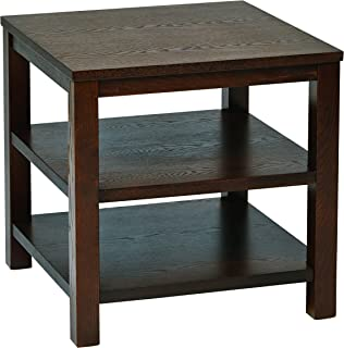 Ave Six AVE SIX OSP Furniture Merge Square End Table, 20