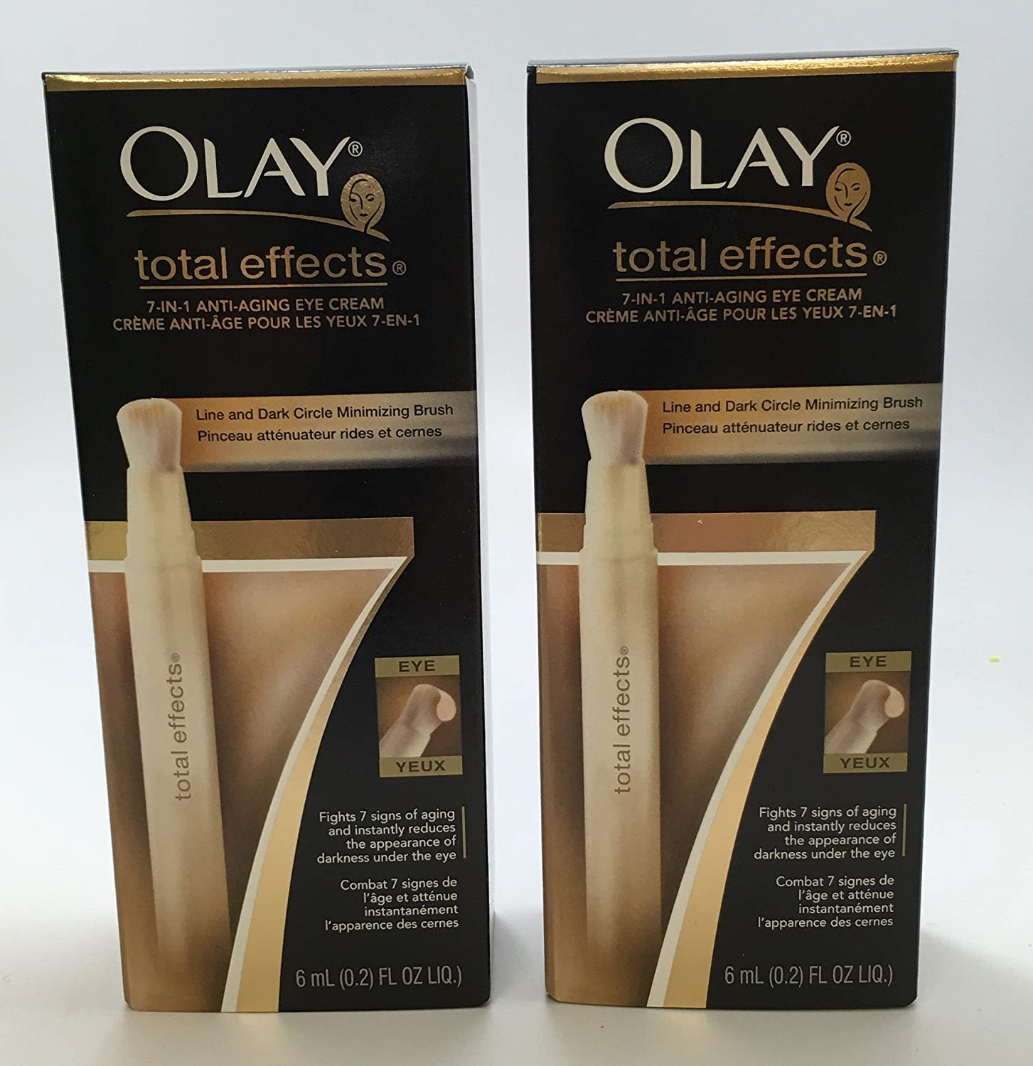 Olay Total Effects Dark Circle Minimizing Brush Today's only Oz Fl 0.2 Pack Price reduction