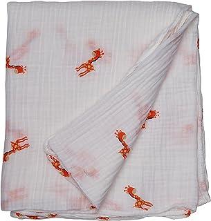 Lulujo 0628233452009 Mini Muslin Cloths Pretty In Pink