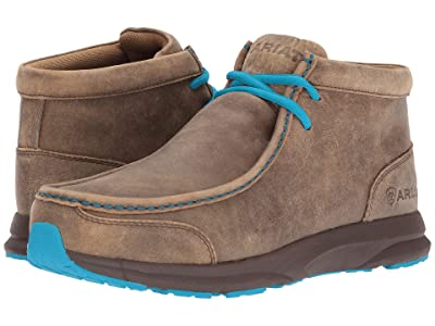 Ariat Spitfire (Brown Bomber/Blue Laces) Men