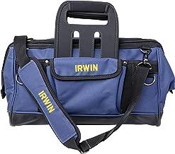 """Irwin IW14081, Mala para Ferramentas Compression 18"""", Preto e Azul"""