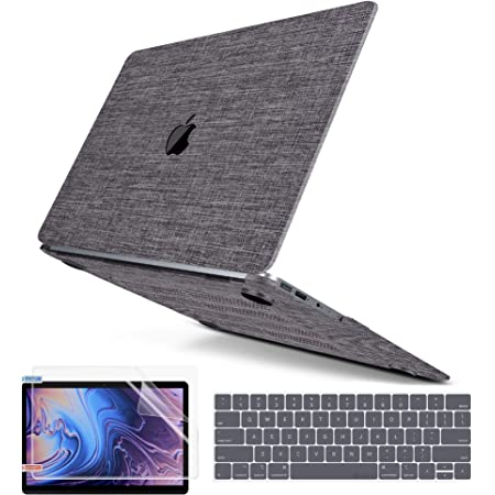 A1932, 2019 2018 Release Fishbones and Fish Tins Compatible with MacBook Air 13 inch Hard Plastic Shell Cover Case