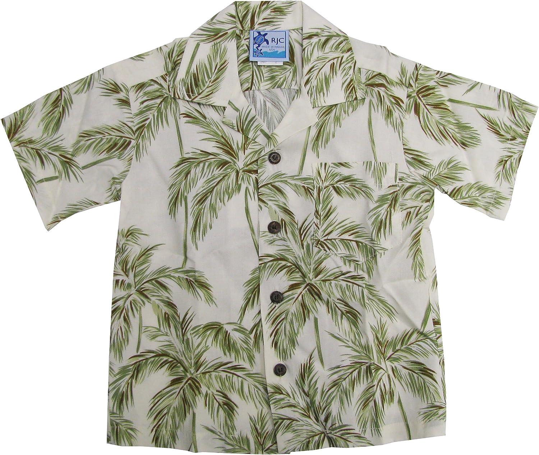 RJC Boys Palm Trees Rayon Shirt