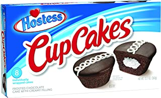 Hostess Cupcakes, Chocolate, 8 Count (Pack of 6)