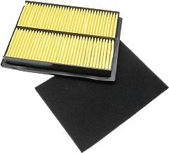 vhbw Filterset (1x luchtfilter, 1x voorfilter) geschikt voor Honda GXV610K1, GXV610U1, GXV620U1, GXV670 motor voor gazontr...