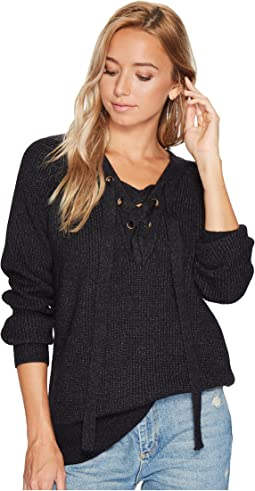 Bishop + Young - Jessie Lace-Up Sweater