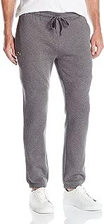 Men's Sport Brushed Fleece Pant with Elastic Leg Opening