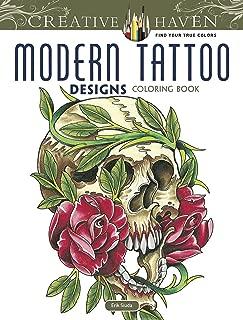creative colouring tattoo designs