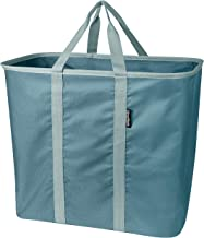 CleverMade Collapsible Laundry Tote, Large Foldable Clothes Hamper Bag, LaundryCaddy CarryAll XL Pop Up Storage Basket wit...