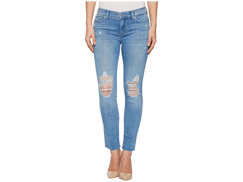 Hudson Jeans Tally Mid-Rise Skinny Crop Jeans in Sugarcoat (Sugarcoat) Women