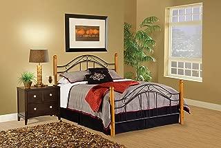 Hillsdale Furniture Winsloh Bed Set, Full, Medium Oak