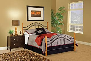 Hillsdale Furniture 164BFR Winsloh Bed Set, Full, Medium Oak