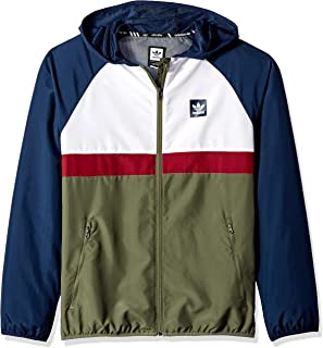 adidas Originals Men's Skateboarding Blackbird Packable Wind Jacket