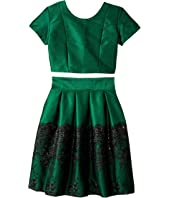 fiveloaves twofish Holiday Beauty Dress Set (Big Kids)