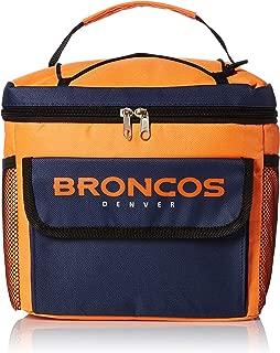 FOCO NFL Denver Broncos All Star Bungie Cooler Sports Fan Home Decor, Blue, One Size