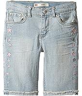 Levi's® Kids Sideseam Bermuda Shorts (Little Kids)