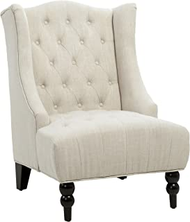 Christopher Knight Home Clarice Accent Chair, Beige