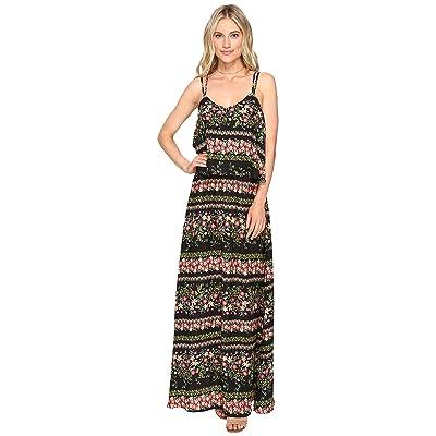 Jack by BB Dakota Dixon Printed Maxi Dress (Black) Women