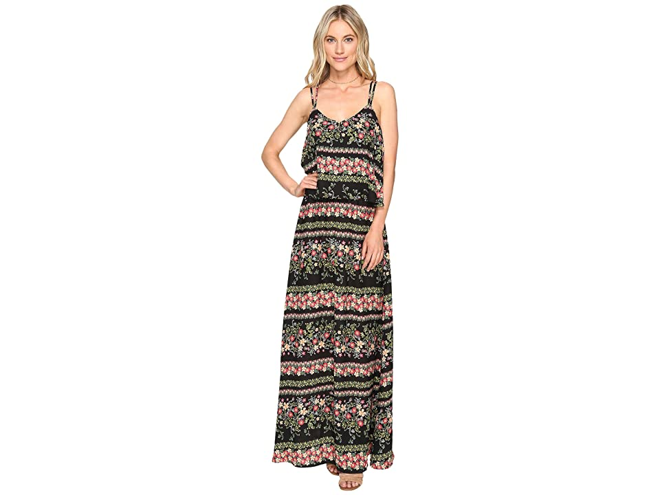 Jack by BB Dakota Dixon Printed Maxi Dress (Black) Women