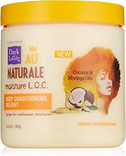 SoftSheen-Carson Dark and Lovely Au Naturale Moisture L.O.C. Deep Conditioning Delight, 14.4 oz