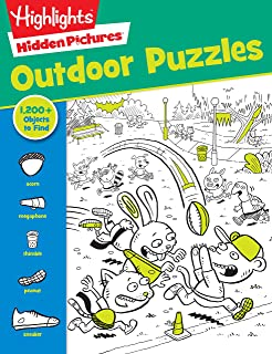 Outdoor Puzzles (Highlights Favorite Hidden Pictures Series) (Highlights(TM) Hidden Pictures®)