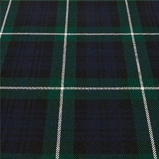 Light Weight 10oz Fabric Material Lamont Modern Tartan 1 Metre