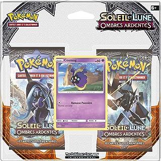 0a5a247f53c4d Asmodée - 2PACK01SL03 - 2 Boosters Pokémon Soleil et Lune Ombres Ardentes  (Version Française)