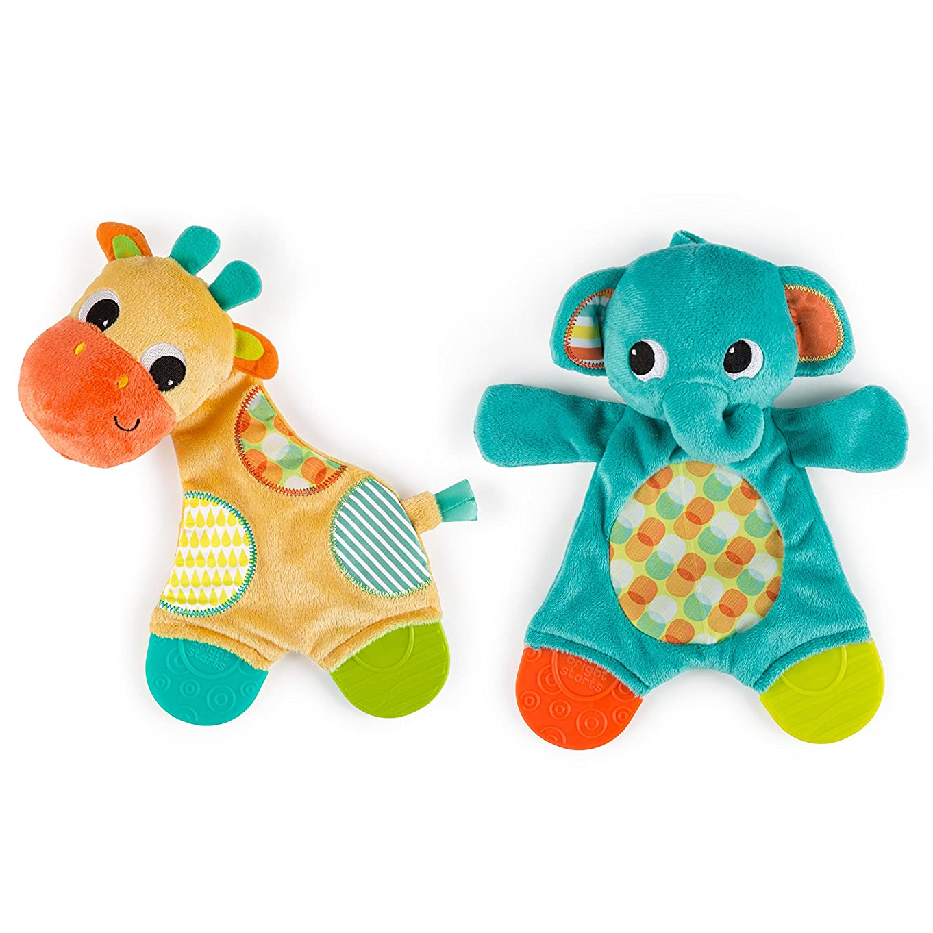 Bright Starts Snuggle & Teethe Toy (One toy, style may vary) s79407356