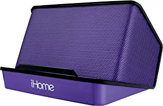 iHome Portable Rechargeable Stereo Speaker System - Purple