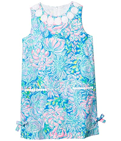 Lilly Pulitzer Kids Little Lilly Classic Shift Dress (Toddler/Little Kids/Big Kids) (Multi In Full Bloom) Girl