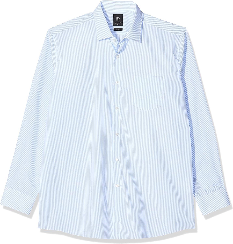 Pierre Cardin Hemd Cannes Streifen Camisa para Hombre